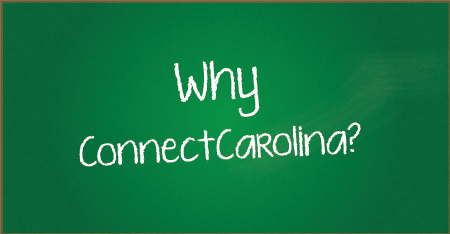 Why Now? Why ConnectCarolina?