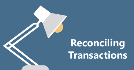 New! Reconciling Transactions Training