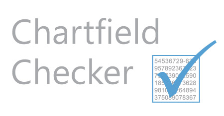 New Chartfield Checker!