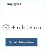 Sign In to Tableau dark blue button