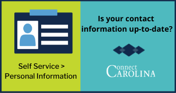 Contact card icon SElf Service Personal Information