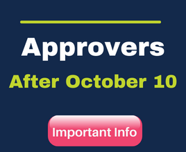 Tasks for Approvers