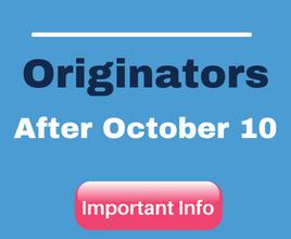 Tasks for Originators
